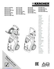 Karcher HD 9/20-4 M Plus Manuals