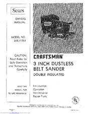 Craftsman 315.11751 Manuals