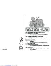 Stiga SD 98-108 Manuals