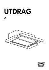 Ikea UTDRAG Manuals