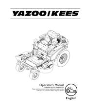 Yazoo/kees ZMMKW34170 Manuals