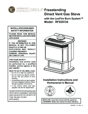 Vermont Castings RFSDV34 Manuals