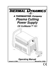 Thermal Dynamics 101 CUTMASTER Manuals