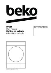 Beko DCY 9502 GXB3 Manuals
