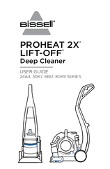 Bissell PROHEAT 2X LIFT-OFF 30K7 Series Manuals