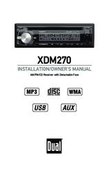 Dual XDM270 Manuals
