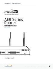Cradlepoint AER1650 Series Manuals