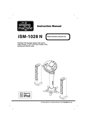 The Singing Machine iSM-1028 N Manuals