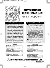Mitsubishi TLE Series (FA Manuals
