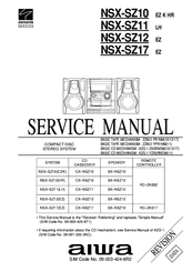 Aiwa NSX-SZ10 LH Manuals