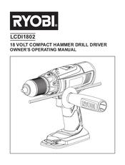 Ryobi LCDI1802 Manuals