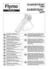 Flymo GardenVac Plus Manuals
