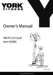 York Fitness 53085 Manuals