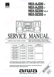 Aiwa NSX-SZ200 Manuals