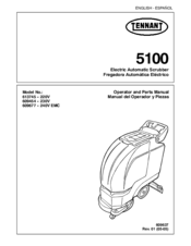 Tennant 5100 Manuals