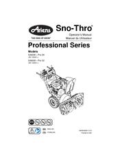 Ariens Sno-Thro Pro 32 926039 Manuals