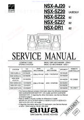 Aiwa NSX-DR1 Manuals
