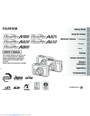 Fujifilm Finepix A825 Manuals