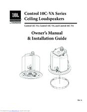 Jbl Control 14C-VA Manuals