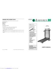 Weslo WETL91072 Cadence 910 Manuals