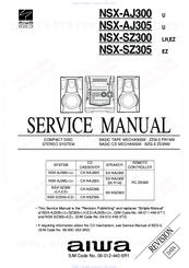 Aiwa NSX-SZ305 Manuals