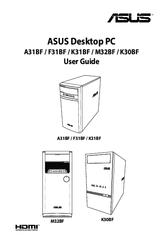 Asus K31BF Manuals