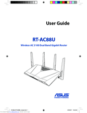 Asus RT-AC88U Manuals