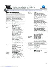 Konica Minolta bizhub C654e Manuals