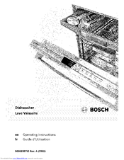 Bosch SHV7PT53UC Manuals
