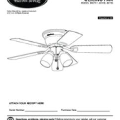 Harbor Breeze Keyport Suzuki X4 125 Motorcycle Wiring Diagram Centreville 40117 Installation Manual Pdf Download