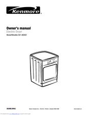 Kenmore 501-80002 Manuals