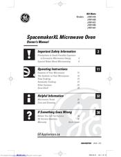 Ge SpacemakerXL JVM1440 Manuals