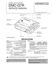 Kenwood DMC-G7R Manuals