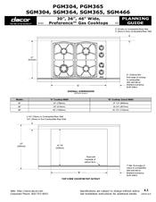 Dacor Ecs136sch Support And Manuals