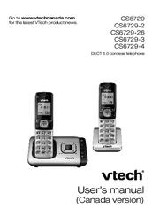 Vtech CS6729-3 Manuals