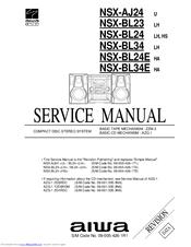 Aiwa NSX-BL24 LH Manuals