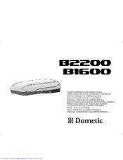 Schéma régulation plancher chauffant: Dometic b2200 manual