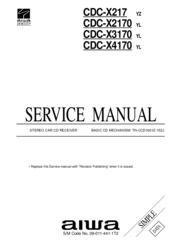 Aiwa CDC-X217 Manuals