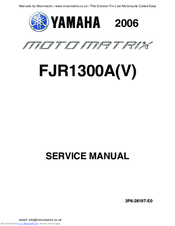 Yamaha FJR1300A Manuals