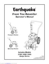 Earthquake 3200 Manuals