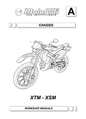 Malaguti XSM 50 Manuals