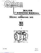 Onan NH Manuals