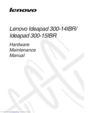 Lenovo Ideapad 300-15IBR Manuals