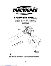 Yardworks 60-3866-8 Manuals