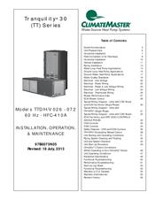 Climatemaster Tranquility 16 Wiring Diagram : 43 Wiring