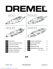 Dremel 200 Manuals
