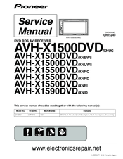 pioneer avh x1500dvd wiring diagram us power plug xnuw5 manuals and user guides for we have 1 manual available free pdf download service