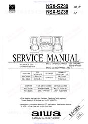 Aiwa NSX-SZ30 Manuals