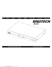 Digitech AR1753 Manuals