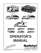 Argo Conquest Manuals
